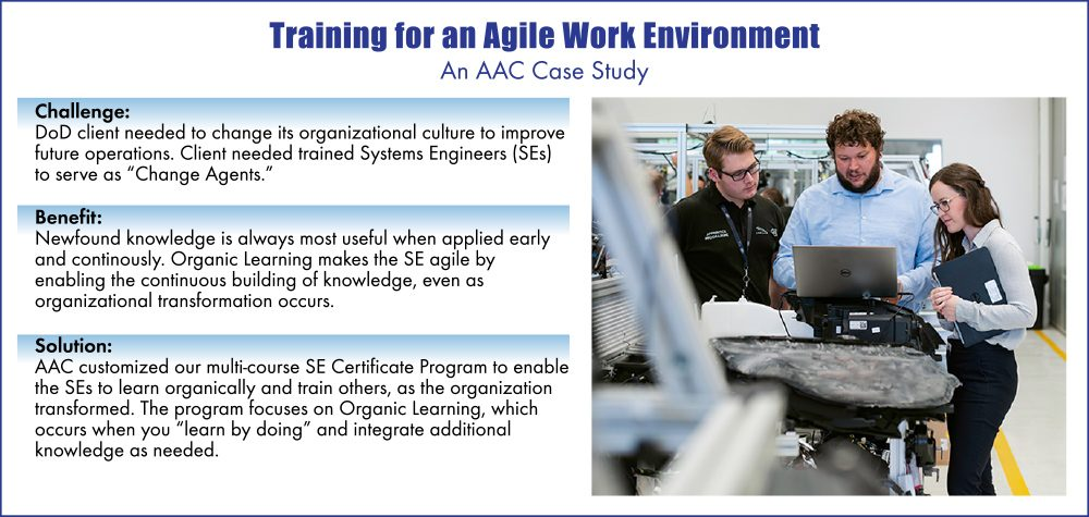 Training for an Agile Work Environment